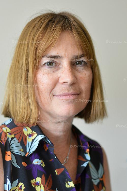 Anne-Marie FABRETTI, de la Direction de la Qualité, gestion des risques et Activités de Réseaux au Centre Hospitalier de la Région d'Annecy (74).