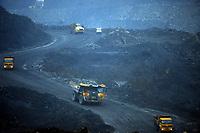 Open cast mining Coal, Merthyr Tydfil, Wales, UK