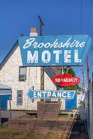 Brookshire Motel on Route 66 in Tulsa Oklahoma