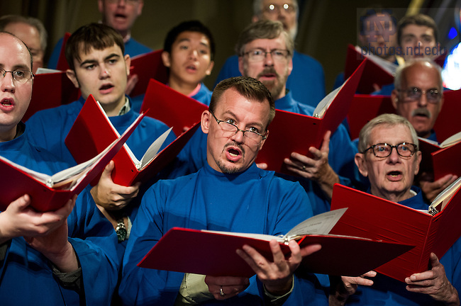July 20, 2014; Summer Choir. (Photo by Barbara Johnston/University of Notre Dame
