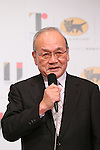 Mitsunori Torihara, <br /> AUGUST 10, 2015 : <br /> Yamato Holdings has Press conference in Tokyo. <br /> Yamato Holdings announced that <br /> it has entered into a partnership agreement with <br /> the Tokyo Organising Committee of the Olympic and Paralympic Games. <br /> With this agreement, Yamato Holdings becomes the official partner. <br /> (Photo by YUTAKA/AFLO SPORT)