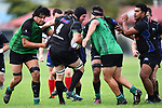 NELSON, NEW ZEALAND - APRIL 14: Premier Club Rugby - Huia/Kahurangi v Nelson Marist. Sport Park, Motueka, Nelson, New Zealand. Saturday 14 April 2018. (Photo by Chris Symes/Shuttersport Limited)