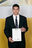 Soccer Boys Winner - Michael Boxall. ASB College Sport Young Sportsperson of the Year Awards 2006, held at Eden Park on Thursday 16th of November 2006.<br />