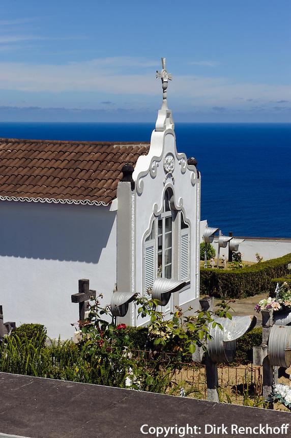 Friedhof von Remedios auf der Insel Sao Miguel, Azoren, Portugal