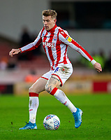 11th January 2020; Bet365 Stadium, Stoke, Staffordshire, England; English Championship Football, Stoke City versus Milwall FC; James McClean of Stoke City - Strictly Editorial Use Only. No use with unauthorized audio, video, data, fixture lists, club/league logos or 'live' services. Online in-match use limited to 120 images, no video emulation. No use in betting, games or single club/league/player publications