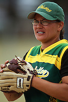 Hutt Valley's Zavana Aranga during round two of the National Women's Softball Championships at Hataitai Park, Wellington, NewZealand on Sunday 2 February 2009. Photo: Dave Lintott / lintottphoto.co.nz