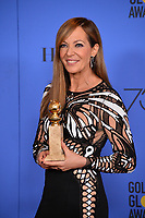 Allison Janney at the 75th Annual Golden Globe Awards at the Beverly Hilton Hotel, Beverly Hills, USA 07 Jan. 2018<br /> Picture: Paul Smith/Featureflash/SilverHub 0208 004 5359 sales@silverhubmedia.com