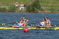 Rotterdam. Netherlands. <br /> GBR W4-, Gold Medalist, Bow. Fiona GAMMOND, Donna<br /> ETIEBET, Holly<br /> NIXON and Holly<br /> NORTON,  Non Olympic Classes World Championships, Finals.  2016 JWRC, U23 and Non Olympic Regatta. {WRCH2016}  at the Willem-Alexander Baan.   Saturday  27/08/2016 <br /> <br /> [Mandatory Credit; Peter SPURRIER/Intersport Images]