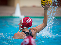 STANFORD, CA - April 20, 2019: Cassidy Wiley at Avery Aquatic Center. The #1 Stanford Cardinal took down the #20 San Jose State Spartans 22-4.