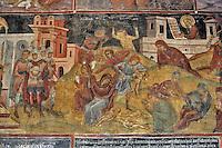 BG61228.JPG BULGARIA, BLACK SEA COAST, NESSEBAR, CHURCH OF ST STEPHAN, 10TH CENTURY, FRESCOS