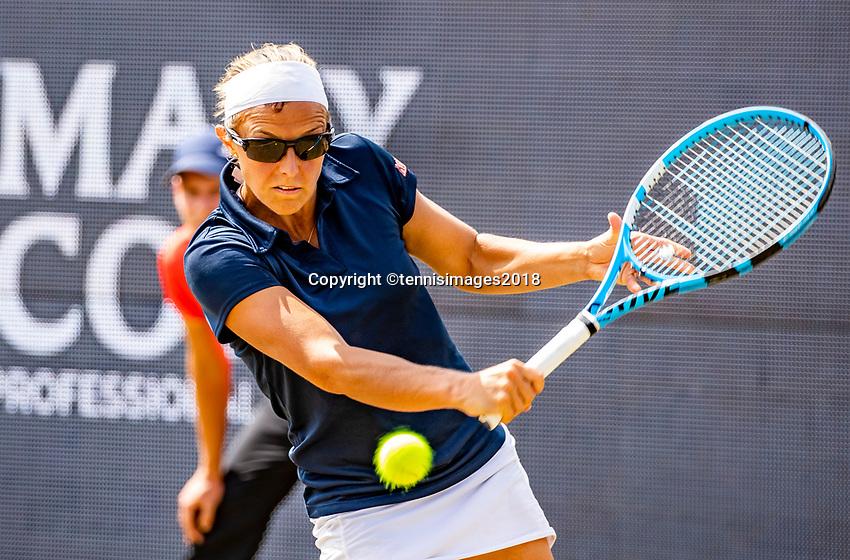 Den Bosch, Netherlands, 16 June, 2018, Tennis, Libema Open, Kristen Flipkens (BEL)<br /> Photo: Henk Koster/tennisimages.com