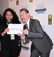 NEW YORK, NY-November 03: Morgan Spurlock at The Inaugural Critics Choice Documentary Awards at  BRIC | 647 Fulton St, Brooklyn, New York .November 03, 2016. Credit:RW/MediaPunch