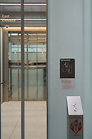 East Elevator at The Yale University Art Gallery. Chapel Street, New Haven, CT.