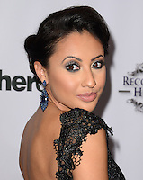 LOS ANGELES, CA, USA - NOVEMBER 08: Francia Raisa arrives at the Unlikely Heroes' 3rd Annual Awards Dinner And Gala held at the Sofitel Hotel on November 8, 2014 in Los Angeles, California, United States. (Photo by Celebrity Monitor)