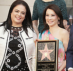 Lucy Liu Honored With Star On The Hollywood Walk Of Fame on May 01, 2019 in Hollywood, California.<br /> a_Lucy Liu 008
