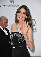 Carla Bruni  at the 21st annual amfAR Cinema Against AIDS Gala at the Hotel du Cap d'Antibes.<br /> May 22, 2014  Antibes, France<br /> Picture: Paul Smith / Featureflash