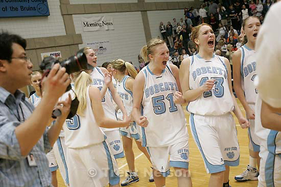 danny la. Taylorsville - Sky View defeats Timpview, 4A State Girls high school basketball state championship game at Salt Lake Community College, Saturday, February 23, 2008.