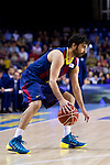 FC Barcelona's Juan Carlos Navarro during Liga Endesa ACB 2013-2014 match against Gipuzkoa Basket Club. November 3, 2013. (ALTERPHOTOS/Alex Caparros)