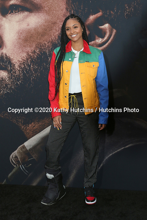 LOS ANGELES - MAR 1:  Brittney Elena at the The Way Back Premiere at the Regal LA Live on March 1, 2020 in Los Angeles, CA