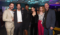 LOS ANGELES, CA - FEBRUARY 6:  Mark-Paul Gosselaar, Henry Ian Cusick, Caroline Chikezie, Emmanuelle Chriqui, Brianne Howey and Jamie McShane attends the FOX Winter TCA 2019 All Star Party at The Fig House on February 6, 2019 in Los Angeles, California. (Photo by Stewart Cook/Fox/PictureGroup)