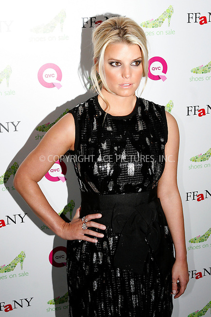 WWW.ACEPIXS.COM . . . . .  ....October 13 2009, New York City....Actress/Singer Jessica Simpson arriving at the 16th Annual QVC Presents FFANY Shoes On Sale event at Frederick P. Rose Hall, Jazz at Lincoln Center on October 13, 2009 in New York, New York. ....Please byline: NANCY RIVERA- ACEPIXS.COM.... *** ***..Ace Pictures, Inc:  ..Tel: 646 769 0430..e-mail: info@acepixs.com..web: http://www.acepixs.com