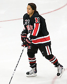 Rachel Llanes (NU - 11) - The Boston University Terriers defeated the visiting Northeastern University Huskies 3-0 on Tuesday, December 7, 2010, at Walter Brown Arena in Boston, Massachusetts.