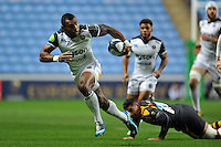 Semesa Rokoduguni of Bath Rugby goes on the attack. European Rugby Champions Cup match, between Wasps and Bath Rugby on December 13, 2015 at the Ricoh Arena in Coventry, England. Photo by: Patrick Khachfe / Onside Images