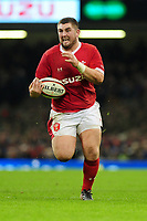 Wales Wyn Jones in action during the International friendly match between Wales and Barbarians at the Principality Stadium in Cardiff, Wales, UK. Saturday 30 November 2019.