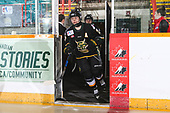 Sudbury, ON - Apr 24 2019 - Stoney Creek Sabres vs As de Quebec during the 2019 ESSO Cup at the Gerry McCrory Countryside Sports Complex in Sudbury, Ontario, Canada (Photo: Alex D'Addese/Hockey Canada)