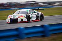 26-29 January, 2017, Daytona Beach, Florida USA<br /> 23, Audi, Audi R8 LMS GT3, GTD, Bill Sweedler, Pierre Kaffer, Townsend Bell, Frank Montecalvo<br /> ©2017, Barry Cantrell<br /> LAT Photo USA