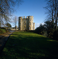 A view of Midford castle from the drive