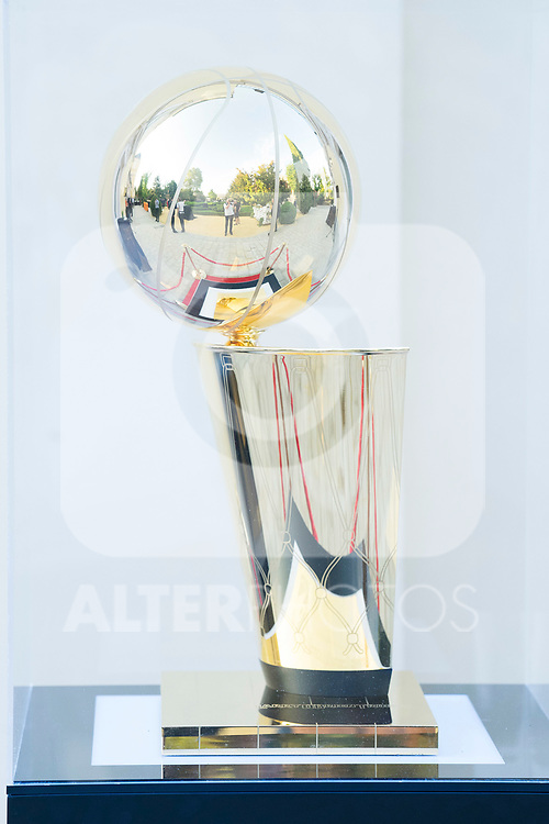 NBA Trophee exposed during the first edition of Spanish Basketball Awards. July 25, 2019. (ALTERPHOTOS/Francis Gonzalez)