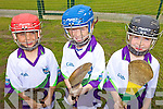 CU?L: Enjoying the hurling action at the GAA Cu?l Camp in Lixnaw last Thursday were, l-r: Callum Warren, Kieran Walsh, Jack Goggin.