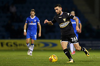 Jay O'Shea of Bury in action during Gillingham vs Bury, Sky Bet EFL League 1 Football at the MEMS Priestfield Stadium on 11th November 2017