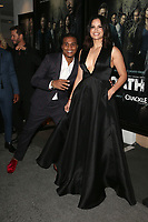 CULVER CITY, CA - MARCH 7: Cory Hardrict, Katrina Law, pictured at Crackle's The Oath Premiere at Sony Pictures Studios in Culver City, California on March 7, 2018. <br /> CAP/MPIFS<br /> &copy;MPIFS/Capital Pictures