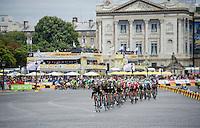 Team SKY leading the way in Paris<br /> <br /> stage 21: Sèvres - Champs Elysées (109km)<br /> 2015 Tour de France