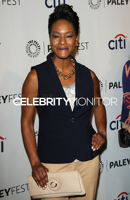 """HOLLYWOOD, LOS ANGELES, CA, USA - MARCH 27: Sufe Bradshaw at the 2014 PaleyFest - """"Veep"""" held at Dolby Theatre on March 27, 2014 in Hollywood, Los Angeles, California, United States. (Photo by Celebrity Monitor)"""