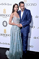 www.acepixs.com<br /> <br /> May 23 2017. Cannes<br /> <br /> Sara Sampaio and Oliver Ripley attend the DeGrisogono 'Love On The Rocks' party during the 70th annual Cannes Film Festival at Hotel du Cap-Eden-Roc on May 23, 2017 in Cap d'Antibes, France<br /> <br /> By Line: Famous/ACE Pictures<br /> <br /> <br /> ACE Pictures Inc<br /> Tel: 6467670430<br /> Email: info@acepixs.com<br /> www.acepixs.com