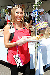 April 2, 2010: Heather Michaels at the LA Mission Easter Luncheon event for the homeless in Los Angeles, California. .Photo by Nina Prommer/Milestone Photo.
