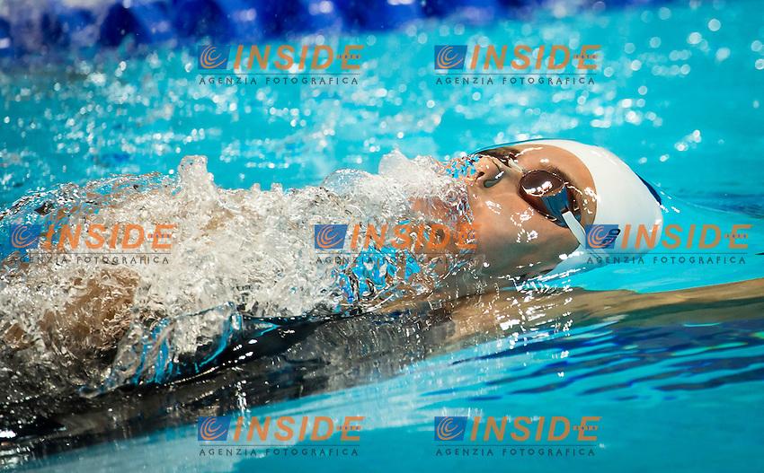 GEMO Elena ITA.100 Backstroke Women.Swimming heats.London 2012 Olympics - Olimpiadi Londra 2012.day 03 July 29.Photo G.Scala/Deepbluemedia.eu/Insidefoto..