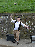 Entertainment at the open day at millmount as part of the Arts Festival. Photo:Colin Bell/pressphotos.ie