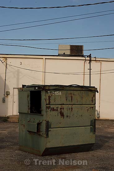 San Angelo - Walking around, dumpster shoot. Wednesday, May 28, 2008.; 05.28.2008.