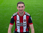 Chris Basham of Sheffield Utd during the 2017/18 Photocall at Bramall Lane Stadium, Sheffield. Picture date 7th September 2017. Picture credit should read: Sportimage