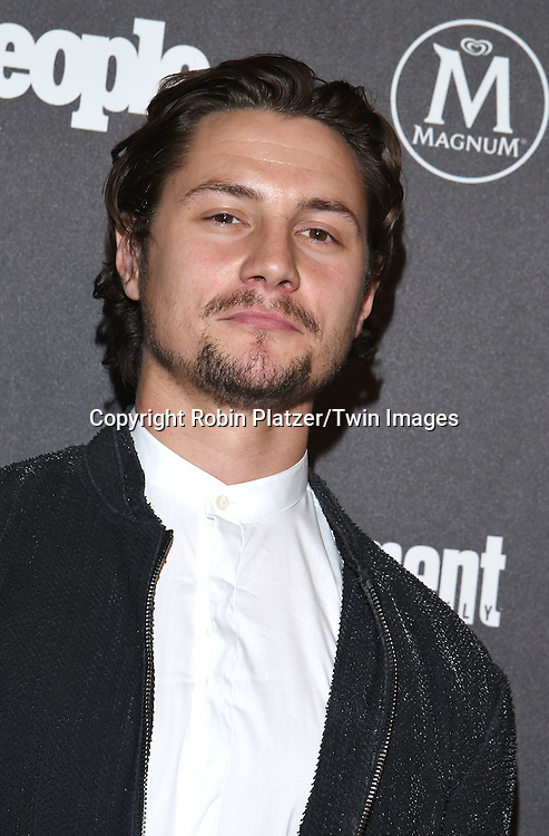 Augustus Prew attends the Entertainment Weekly &amp; PEOPLE Magazine New York Upfronts Celebration on May 16, 2016 at Cedar Lake in New York, New York, USA.<br /> <br /> photo by Robin Platzer/Twin Images<br />  <br /> phone number 212-935-0770