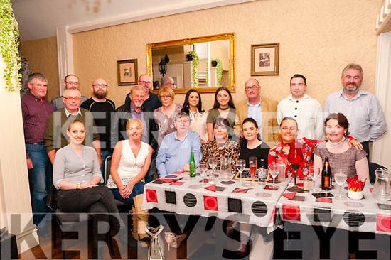 48th Birthday : Tess Enright, Listowel centre front celebrating her 48th birthday with family at Eabha Joan's Restaurant, Listowel on Saturday night last.