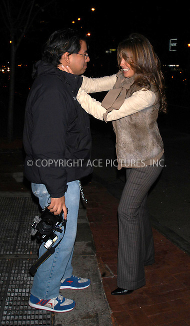 a star is born.  while are tommy matolla and thalia on a night on the town in nyc. creatively, thalia takes on the role of cameron diaz and ''attacks'' photog as tommy looks on.    bocklet