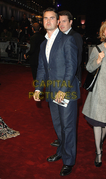 """JIMMY CARR.The world premiere of """"Casino Royale"""", Odeon Leicester Square, London, England..November 14th, 2007.james bond 007 full length blue suit .CAP/BEL.©Belcher/Capital Pictures"""