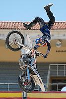 Training Red Bull X-Fighters 2012. Madrid. Rider In the picture Wes Agee USA. July 19, 2012. (ALTERPHOTOS/Ricky Blanco) /NortePhoto.com<br />  <br /> **CREDITO*OBLIGATORIO** *No*Venta*A*Terceros*<br /> *No*Sale*So*third* ***No*Se*Permite*Hacer Archivo***No*Sale*So*third*©Imagenes*con derechos*de*autor©todos*reservados*.