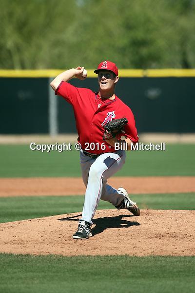 Cody Pope - Los Angeles Angels 2016 spring training (Bill Mitchell)