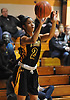 Taylor Goode #2 of St. Anthony's shoots a jumper during the CHSAA varsity girls basketball Class AA state final against Monsignor Scanlan at St. John Villa Academy in Staten Island, NY on Saturday, Mar. 12, 2016. Goode scored a team-high 15 points as St. Anthony's won by a score of 57-43.